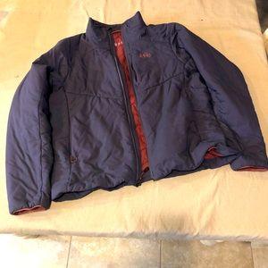 REI women's XL purple jacket